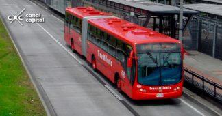 buses viejos de TransMilenio