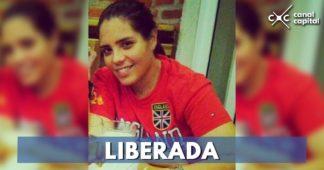 Liberación de Melisa Martínez