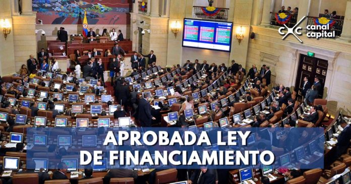 Aprobada la ley de financiamiento