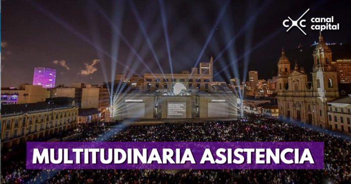 """Más de 600.000 personas disfrutaron del espectáculo """"Más cerca de las estrellas"""""""