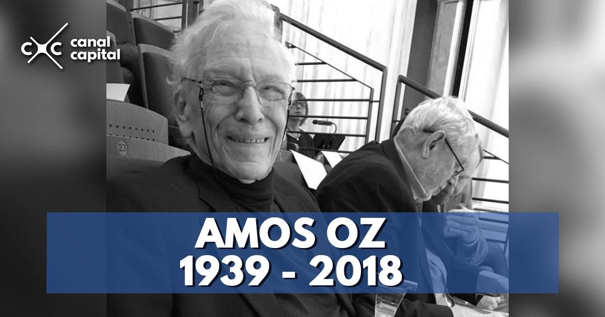 Muere Amos Oz 2462b38a00a
