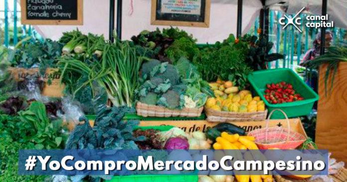 Visite los Mercados Campesinos durante el mes de diciembre
