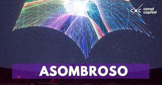 Show láser de magia y fantasía en el Planetario de Bogotá