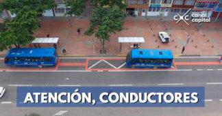 Inician las sanciones económicas por invadir carril preferencial de la Avenida Boyacá