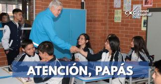 Hay 50.000 cupos para estudiar en colegios oficiales de Bogotá
