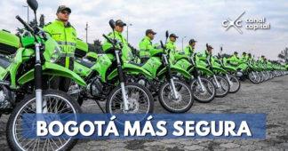 Alcaldía Peñalosa fortaleció los equipos para la seguridad en Bogotá