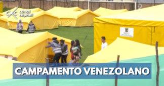 Campamento venezolano se levantará el 15 de enero
