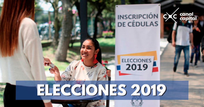 Avanza inscripción de cédulas para elecciones 2019