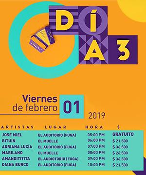 Programación Festival Centro