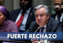 ONU rechaza atentado con carro bomba en Bogotá