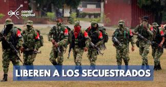 Gobierno exige al Eln liberación de secuestrados y cese de acciones criminales