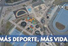 Obras del parque Gilma Jiménez avanzan en un 86 por ciento