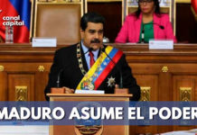 Inicia segundo periodo presidencial de Nicolás Maduro en Venezuela