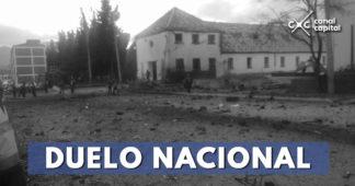 Asciende a 21 el número de muertos por atentado en la Escuela General Santander