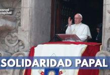 Papa Francisco condena atentado en Bogotá