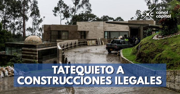 CAR ordena demolición de construcción ilegal en Cerros Orientales