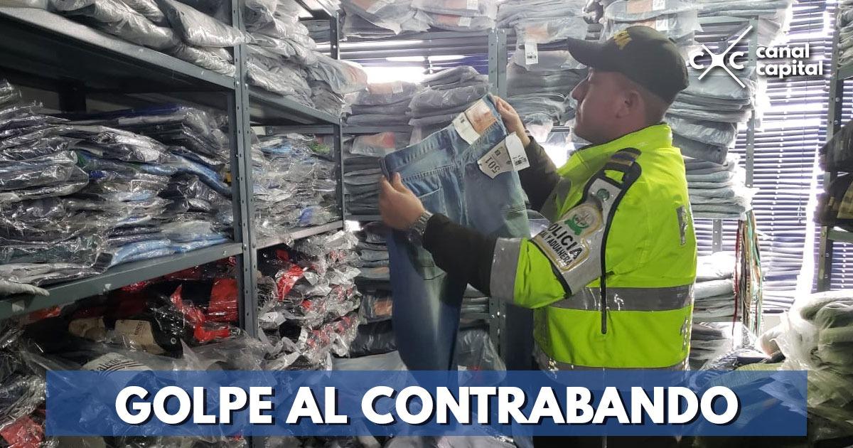 Incautan mil pares de zapatos de contrabando en San