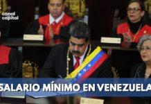 Así quedó el nuevo salario mínimo en Venezuela