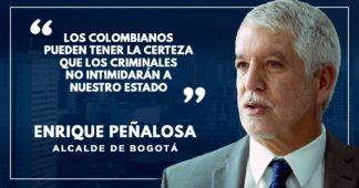 Todos debemos estar unidos contra el terrorismo: Enrique Peñalosa
