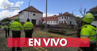 En vivo: atentado en la Escuela General Santander