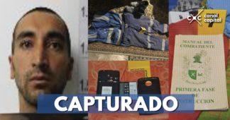 Capturado coautor del atentado contra la Escuela General Santander