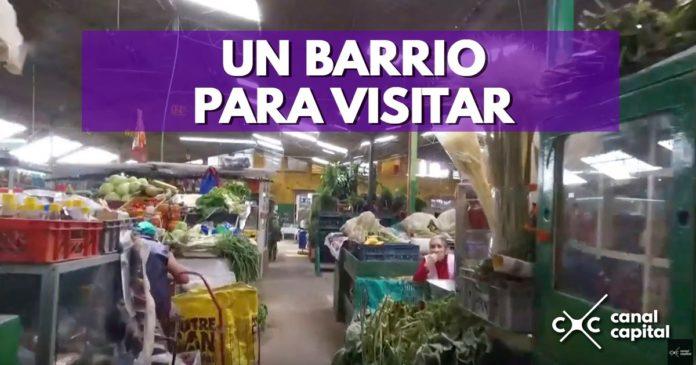 Mercado, fritanga, muebles y escudos: los tesoros del barrio 12 de octubre