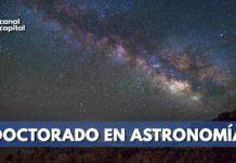 doctorado en Astronomía
