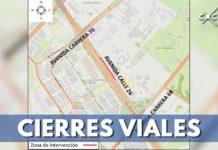 cierres viales calle 26