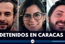 periodistas detenidos en venezuela