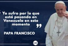 """Papa Francisco teme """"derramamiento de sangre"""" en Venezuela"""