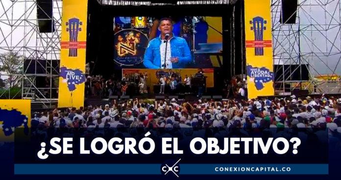 Esto fue lo recaudado por el concierto Venezuela Aid Live