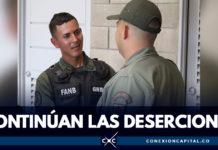 Más de 400 miembros han desertado de las Fuerzas Armadas de Venezuela