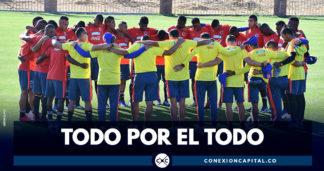 Selección Colombia sub 20 juega partido decisivo en el Sudamericano