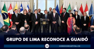 Grupo de Lima reconoce a Juan Guaidó como presidente interino de Venezuela