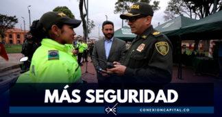 Alcaldía invierte en radios multifuncionales para mejorar la seguridad en Bogotá