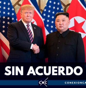 Cumbre entre Trump y Kim termina sin acuerdo