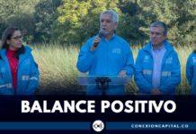 Balance positivo humedales bogota