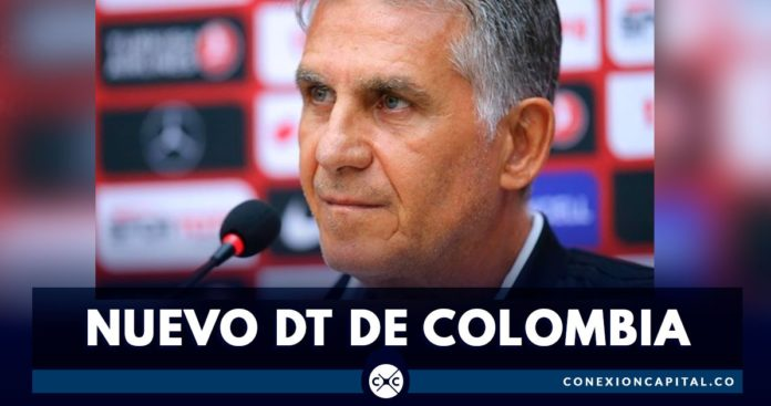 Carlos Queiroz fue presentado como el nuevo director técnico de la Selección Colombia