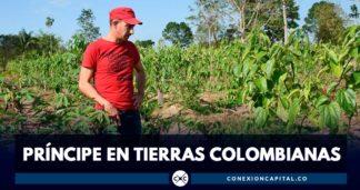 príncipe noruega en tierras colombianas