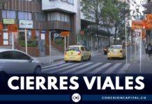 cierres viales Bogotá