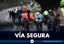ruta segura para los ciclistas