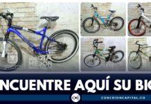 bicicletas robadas en Bogotá