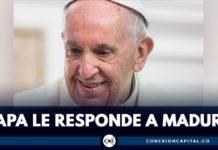 el papa francisco le responde a nicolás mauro