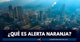 alerta naranja Bogotá