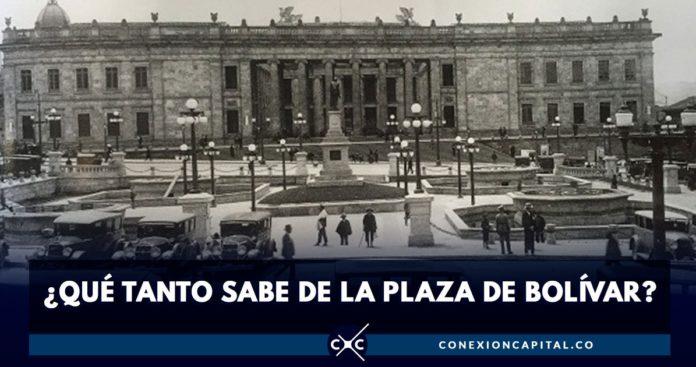 historia Plaza de Bolívar