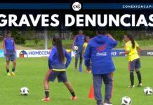 denuncias fútbol femenino