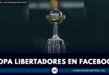 Partidos de la Copa Libertadores que se podrán ver por Facebook