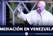 Papa Francisco afirmó que está dispuesto a mediar en crisis de Venezuela