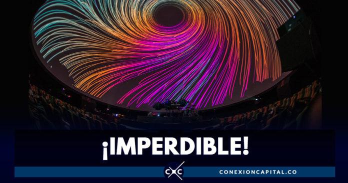 Descubra los colores del universo en el Planetario de Bogotá
