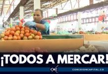 IPES inaugura mercado campesino en la plaza de Kennedy